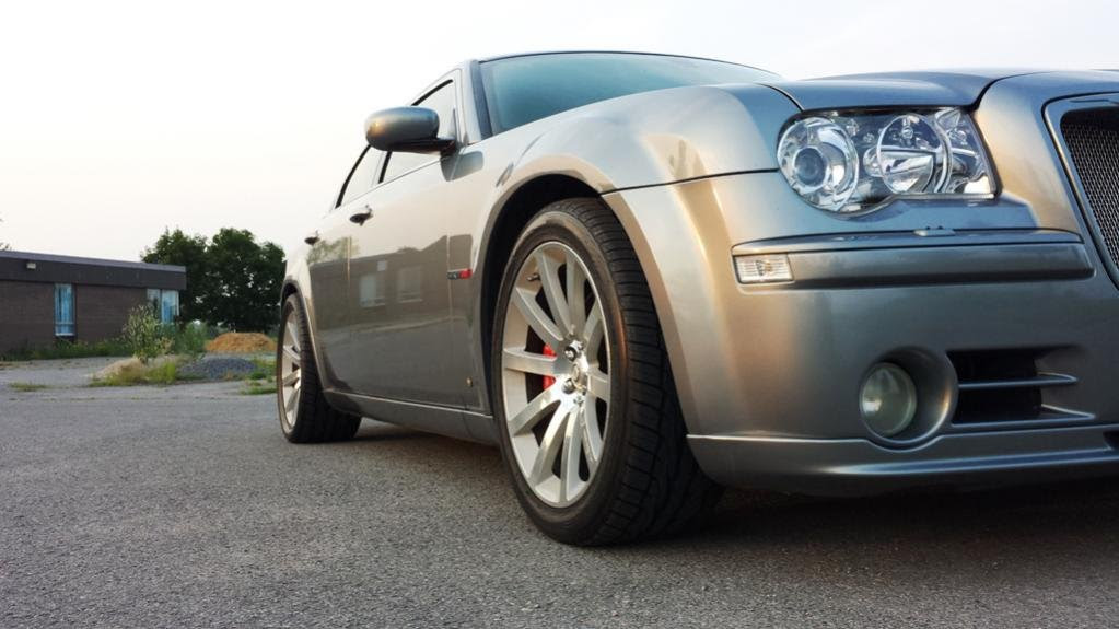 Toyo Tourevo St   On Stock Rims Chrysler 300c Forum 300c Srt8 Forums
