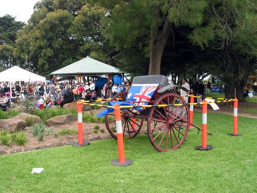 Australia Flag - Pull Cart
