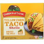 Garden Of Eatin: Yellow Corn Taco Shells, 5.5 Oz