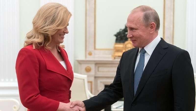 Президент Хорватии выступила за диалог с Россией вместо ее изоляции