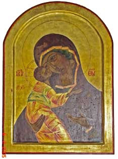 Ikone - Maria mit Jesuskind
