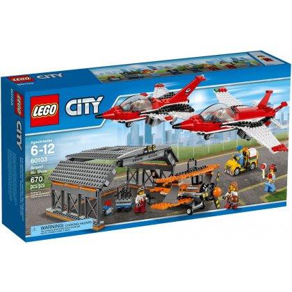 LEGO CITY 60103 Lotnisko - Pokazy lotnicze