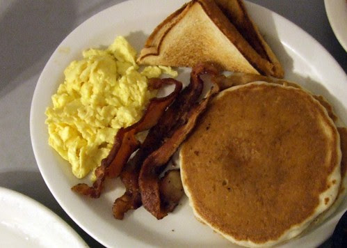 Breakfast plate at Los Vega