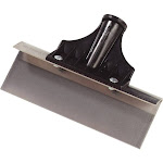 Carlisle 4161900 Commercial Stainless Steel Floor Scraper with Plastic Handle He