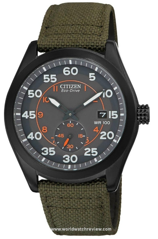 Citizen Eco-Drive Military Sub-Seconds (Ref. BV1085-22H) | World Watch Review