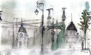 Budapest. Freedom Bridge