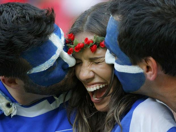 Costa Rica x Grécia (Foto: Reuters)