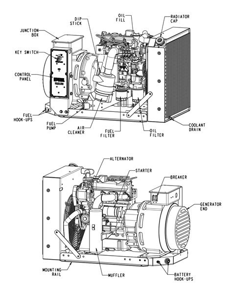 9 kW Diesel Generator Details | Engine Power Source