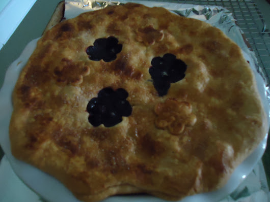 Carl's Favorite Blueberry Pie • Family Around the Table