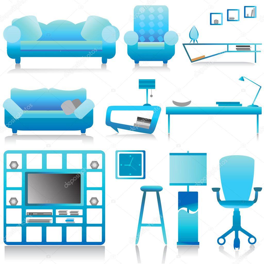 Modern furniture, in