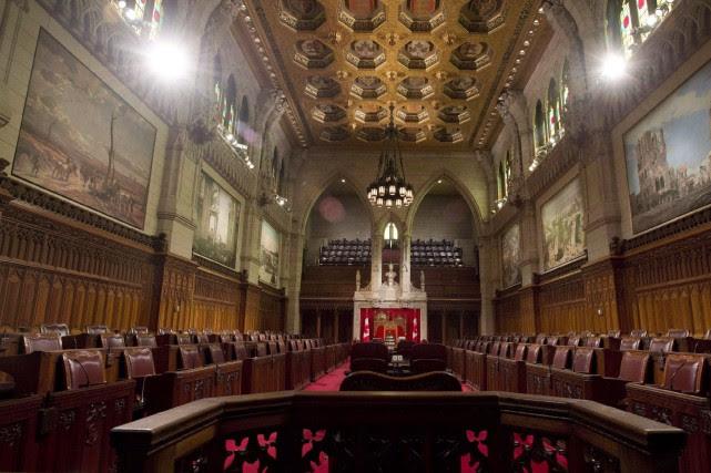 Avec ces nominations, on comptera désormais 44sénateurs dits... (PHOTO ARCHIVES LA PRESSE CANADIENNE)