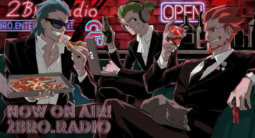 兄者弟者ラジオの新しい絵かっこいい ゲーム実況者速報