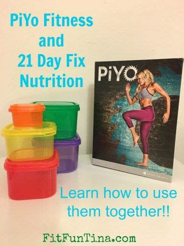 piyo fitness program   day fix nutrition
