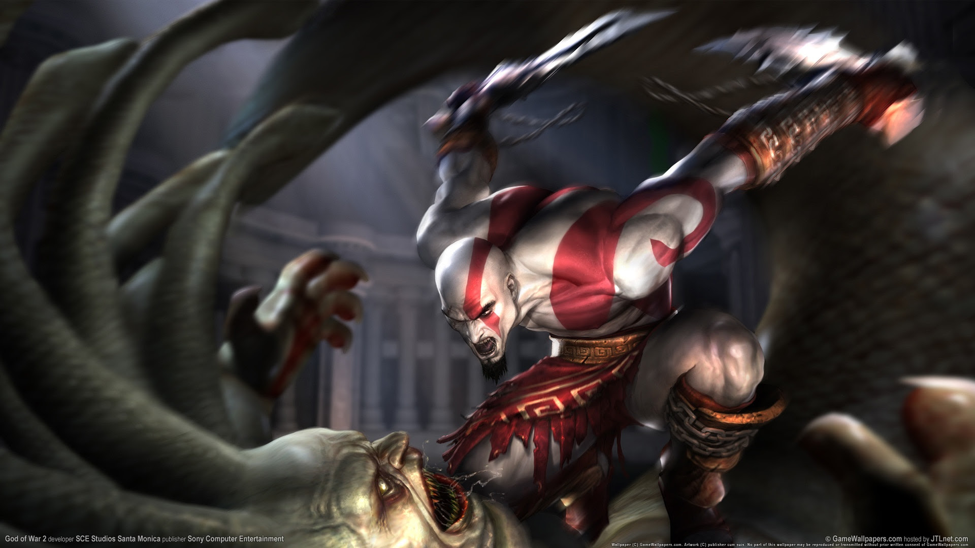God Of War 2 1080p Wallpapers In Jpg Format For Free Download