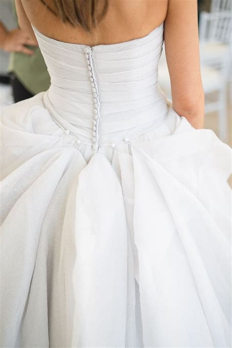 25  best ideas about Wedding dress bustle on Pinterest