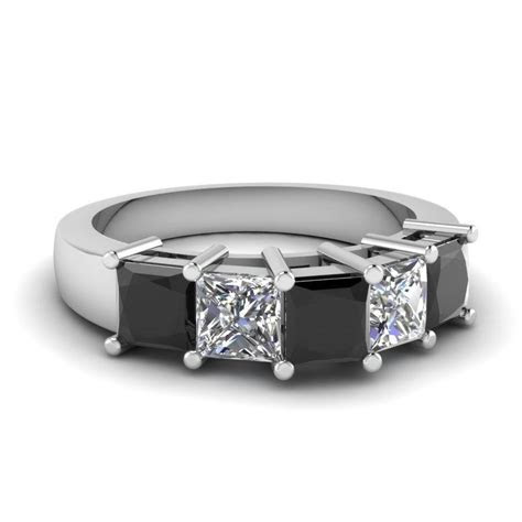 15 Best of Black Diamond Wedding Bands For Her