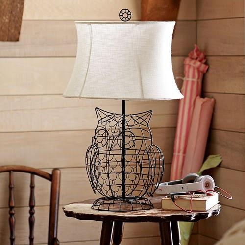 My Owl Barn Owl Lamp Pb Teen