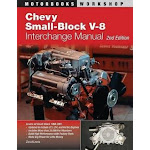 Chevy Small-Block V-8 Interchange Manual: 2nd Edition (US, Paperback)
