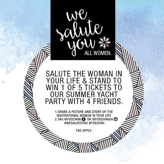 WIN//Summer Yacht Party with Foschini
