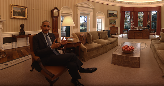 Take a virtual reality tour of the White House narrated by President Obama