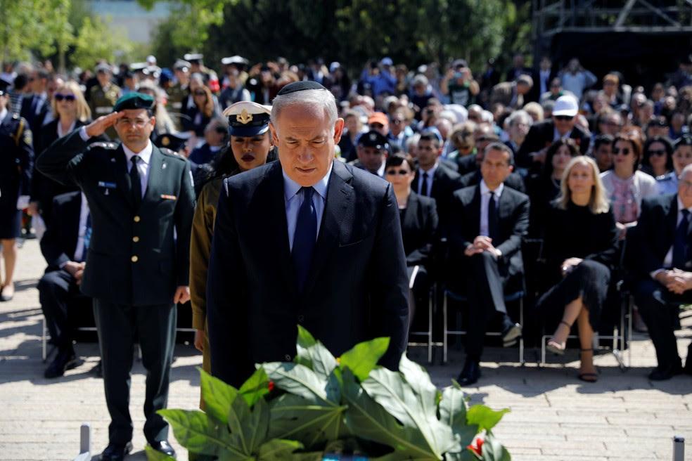 Israel tem  dois minutos de silêncio pelas vítimas do Holocausto