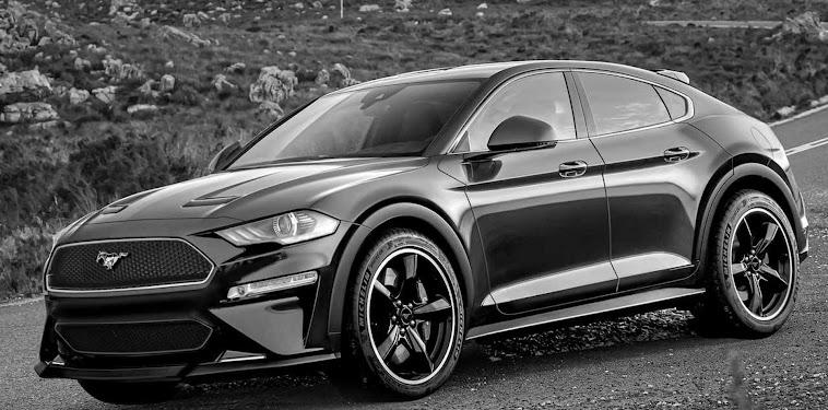 Ford Mustang Suv 2020 Interior