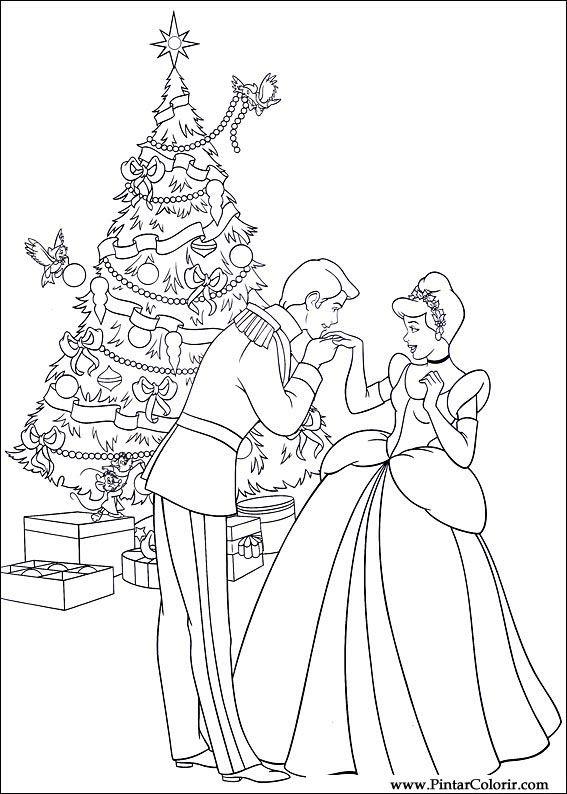 ディズニー 塗り絵 クリスマス ディズニー塗り絵ぬりえ画像