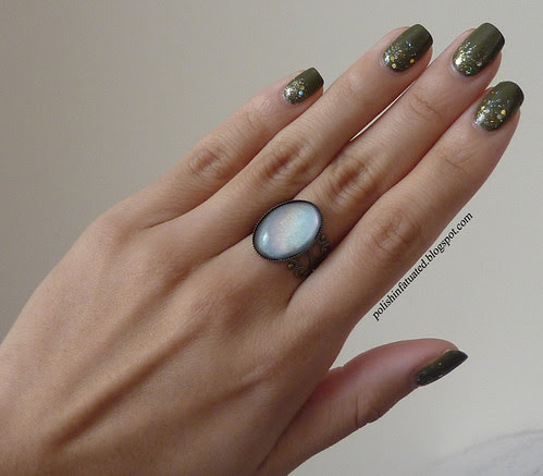 army green and glitter with ring2