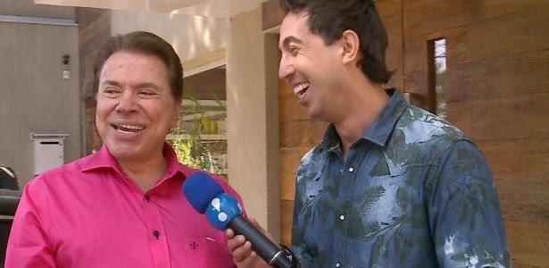 """Em entrevista ao """"Muito Show"""", Silvio Santos diz que se a Globo estiver em crise ele compra a emissora e paga parcelado"""