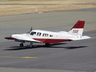 ZK-TSD - Piper Seneca II on an air ambulance flight