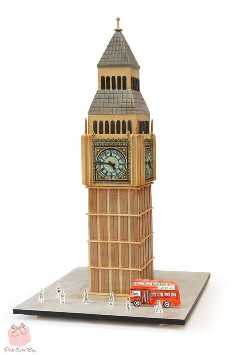 """Big Ben"" Clock Tower Birthday Cake » Birthday Cakes"