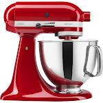KitchenAid - KSM150PSER Artisan Series Tilt-Head Stand Mixer - Empire Red