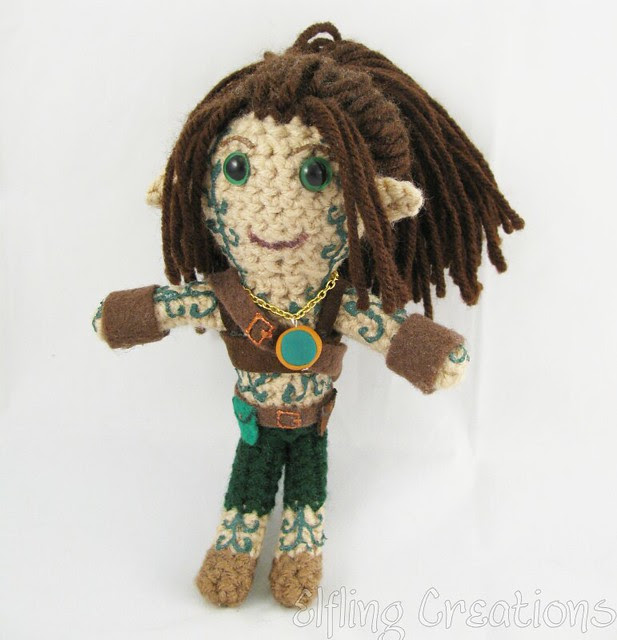Meren D&D Plushie (Wood Elf)