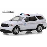 2018 Dodge Durango United States Postal Service Police, White - Greenlight 29993/48 - 1/64 scale Diecast Model Toy Car