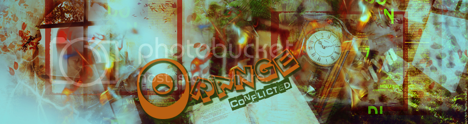 Conflicted Orange