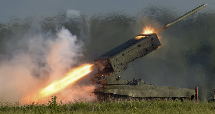 The TOS-1A heavy flamethrower system