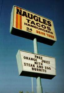 Naugles Signage