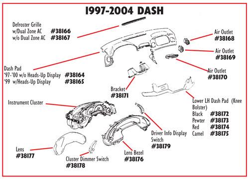 C5 Corvette Parts Diagram