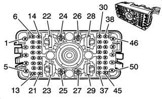 2010 L99 Ls3 Camaro Underhood X3 Connector