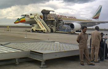 Ethiopian Airlines Cargo 757