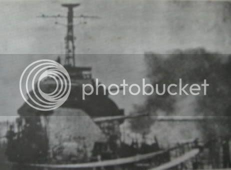 Kapal Inggris Bombardir Surabaya