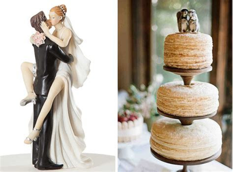 Quirky and Unique Wedding Cake Topper Ideas   Lake Tahoe