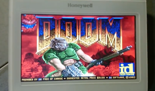 Playing Doom on a Thermostat – Hackster's Blog