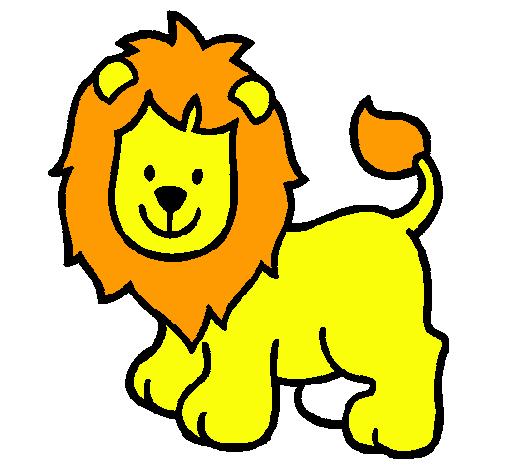 Dibujo De León Pintado Por Agusbolso En Dibujosnet El Día 08 06 11