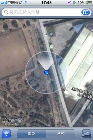 谷歌手机地图的偏移影响用户导航