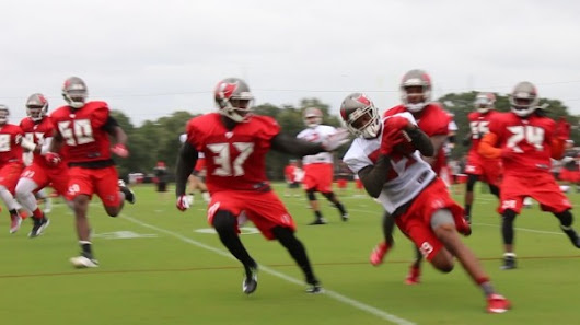 Video: Bucs Training Camp Day 2 Highlights