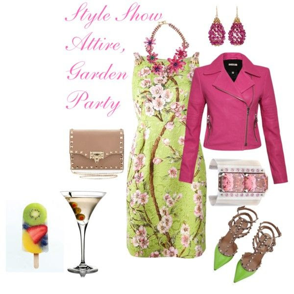 """""""Wearing to a Poolside Fashion Show"""" by splenderosa on Polyvore"""