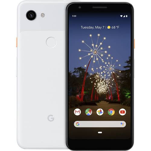 Google Pixel 3a XL  - Unlocked - Clearly White