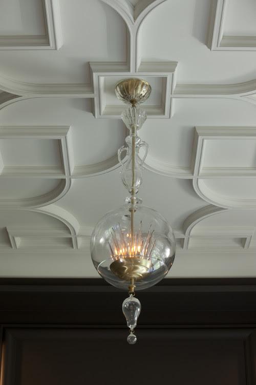 Salon Ceiling Detail