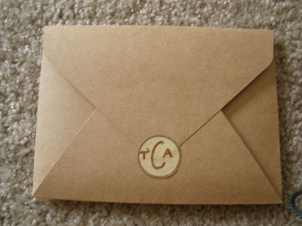 my sample beach wedding invites wedding Envelopes